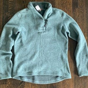 North Face Pullover Teal